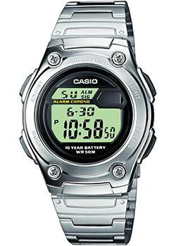 Японские наручные  мужские часы Casio W-211D-1A. Коллекция Sport timer