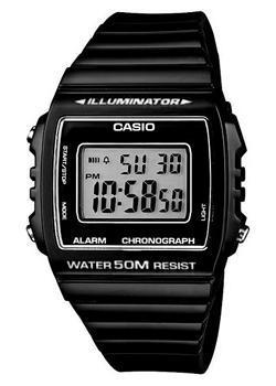 Японские наручные  мужские часы Casio W-215H-1A. Коллекция Illuminator