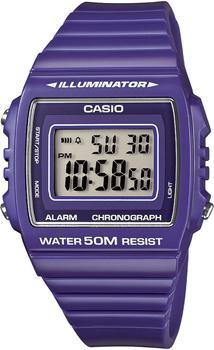 Японские наручные  мужские часы Casio W-215H-6A. Коллекция Illuminator