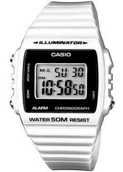 Японские наручные  мужские часы Casio W-215H-7A. Коллекция Illuminator