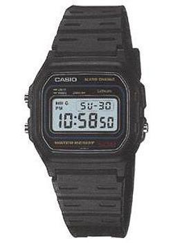 Японские наручные  мужские часы Casio W-59-1. Коллекция Digital