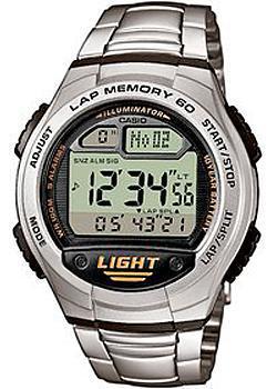 Японские наручные  мужские часы Casio W-734D-1A. Коллекция Standart