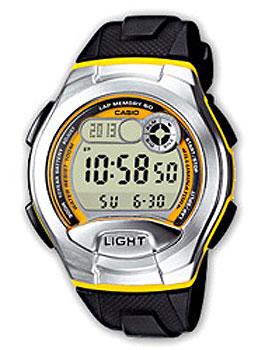 Японские наручные  мужские часы Casio W-752-9B. Коллекция Sport timer