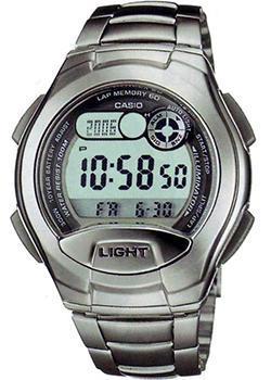 Японские наручные  мужские часы Casio W-752D-1A. Коллекция Sport timer