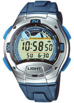 Японские наручные  мужские часы Casio W-753-2A. Коллекция Sport timer