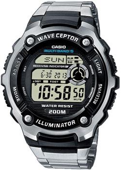 Японские наручные  мужские часы Casio WV-200DE-1A. Коллекция Wave Ceptor