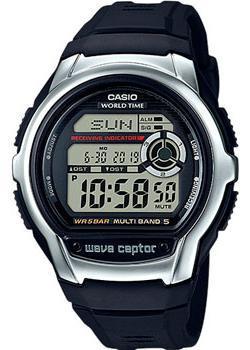 Японские наручные  мужские часы Casio WV-M60-1A. Коллекция Wave Ceptor