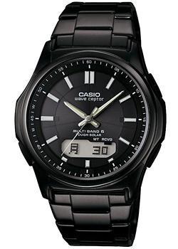 Японские наручные мужские часы Casio WVA-M630DB-1A. Коллекция Wave Ceptor
