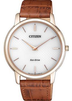 Японские наручные  мужские часы Citizen AR1133-15A. Коллекци Eco-Drive