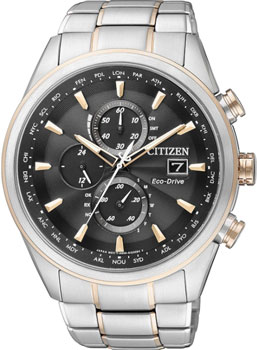 Японские наручные  мужские часы Citizen AT8017-59E. Коллекция Eco-Drive