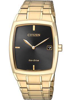 Японские наручные  женские часы Citizen AU1072-87EE. Коллекция Eco-Drive
