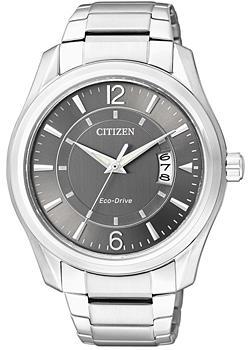 Японские наручные мужские часы Citizen AW1030-50H. Коллекция Eco-Drive