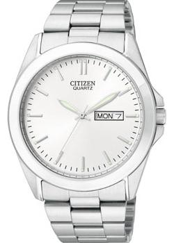 Японские наручные  мужские часы Citizen BF0580-57AE. Коллекци Basic