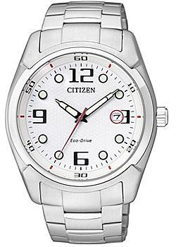 Японские наручные мужские часы Citizen BM6820-55B. Коллекция Eco-Drive