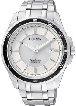 Японские наручные  мужские часы Citizen BM6920-51A. Коллекци Super Titanium