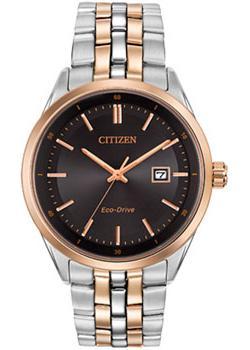 Японские наручные  мужские часы Citizen BM7256-50E. Коллекци Eco-Drive