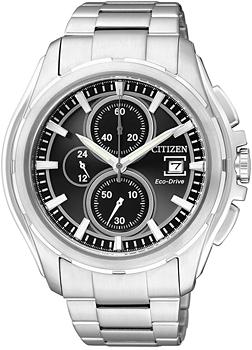 Японские наручные мужские часы Citizen CA0270-59F. Коллекция Eco-Drive