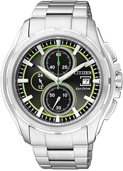 Японские наручные мужские часы Citizen CA0270-59G. Коллекция Eco-Drive