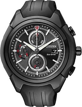 Японские наручные  мужские часы Citizen CA0285-01E. Коллекци Eco-Drive