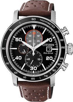 Японские наручные мужские часы Citizen CA0641-24E. Коллекция Eco-Drive фото