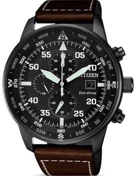Японские наручные мужские часы Citizen CA0695-17E. Коллекция Eco-Drive фото
