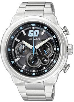 Японские наручные  мужские часы Citizen CA4130-56E. Коллекци Eco-Drive