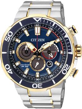 Японские наручные  мужские часы Citizen CA4254-53L. Коллекци Eco-Drive