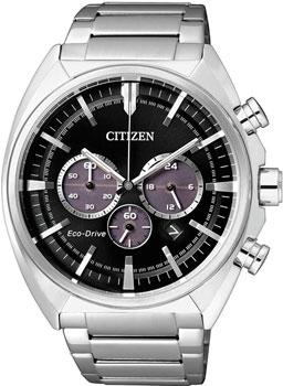 Японские наручные  мужские часы Citizen CA4280-53EE. Коллекци Eco-Drive