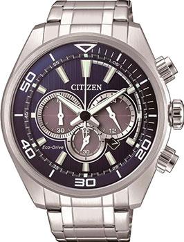 Японские наручные мужские часы Citizen CA4330-81L. Коллекция Eco-Drive фото