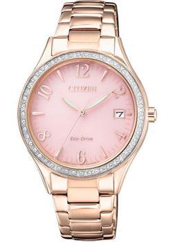 Японские наручные  женские часы Citizen EO1183-84X. Коллекция Eco-Drive