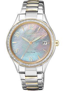 Японские наручные  женские часы Citizen EO1184-81D. Коллекция Eco-Drive