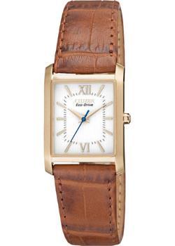 Японские наручные  женские часы Citizen EP5918-06A. Коллекция Eco-Drive