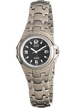 Японские наручные  женские часы Citizen EW0650-51F. Коллекция Eco-Drive