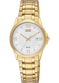 Японские наручные  женские часы Citizen EW1912-51A. Коллекция Eco-Drive