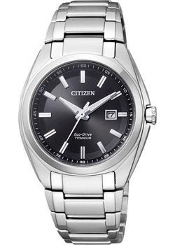Японские наручные женские часы Citizen EW2210-53E. Коллекция Super Titanium фото