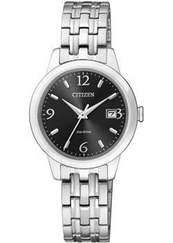 Японские наручные  женские часы Citizen EW2230-56EE. Коллекция Eco-Drive
