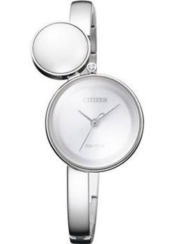 Японские наручные  женские часы Citizen EW5490-59A. Коллекция Eco-Drive