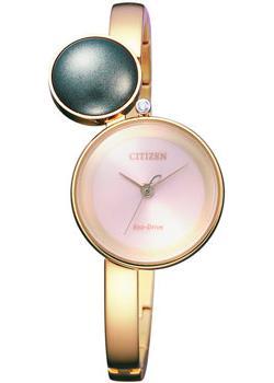 Японские наручные  женские часы Citizen EW5493-51W. Коллекция Eco-Drive
