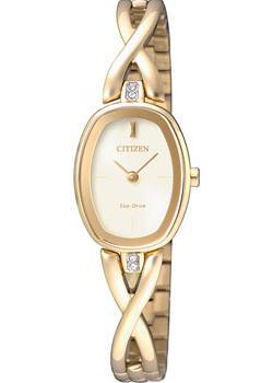 Японские наручные  женские часы Citizen EX1412-82PE. Коллекция Eco-Drive
