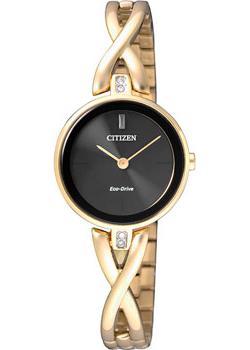 Японские наручные  женские часы Citizen EX1422-89EE. Коллекция Eco-Drive