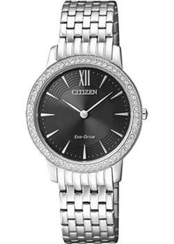 Японские наручные  женские часы Citizen EX1480-82E. Коллекция Eco-Drive