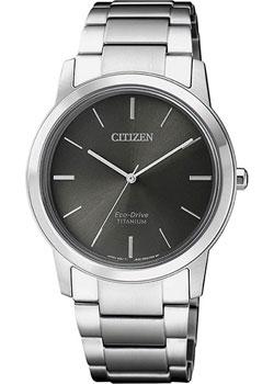 Японские наручные  женские часы Citizen FE7020-85H. Коллекция Eco-Drive