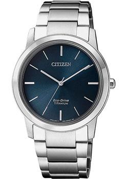 Японские наручные  женские часы Citizen FE7020-85L. Коллекция Eco-Drive