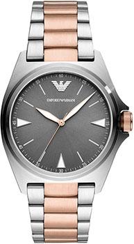 Fashion наручные мужские часы Emporio armani AR11256. Коллекция Nicola фото