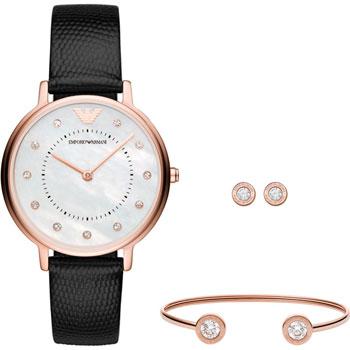 fashion наручные  женские часы Emporio armani AR80011. Коллекция Dress Watch Gift Set