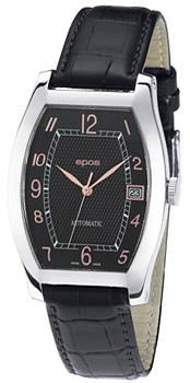Швейцарские наручные  мужские часы Epos 3359.132.20.35.15. Коллекция Elegance