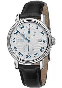 Швейцарские наручные мужские часы Epos 3392.858.20.30.25. Коллекция Emotion