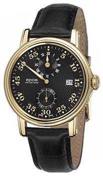 Швейцарские наручные мужские часы Epos 3392.858.22.35.25. Коллекция Emotion