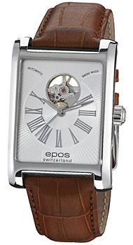 Швейцарские наручные  мужские часы Epos 3399.133.20.28.27. Коллекция Perfection