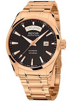 Швейцарские наручные мужские часы Epos 3402.142.24.15.34. Коллекция Passion